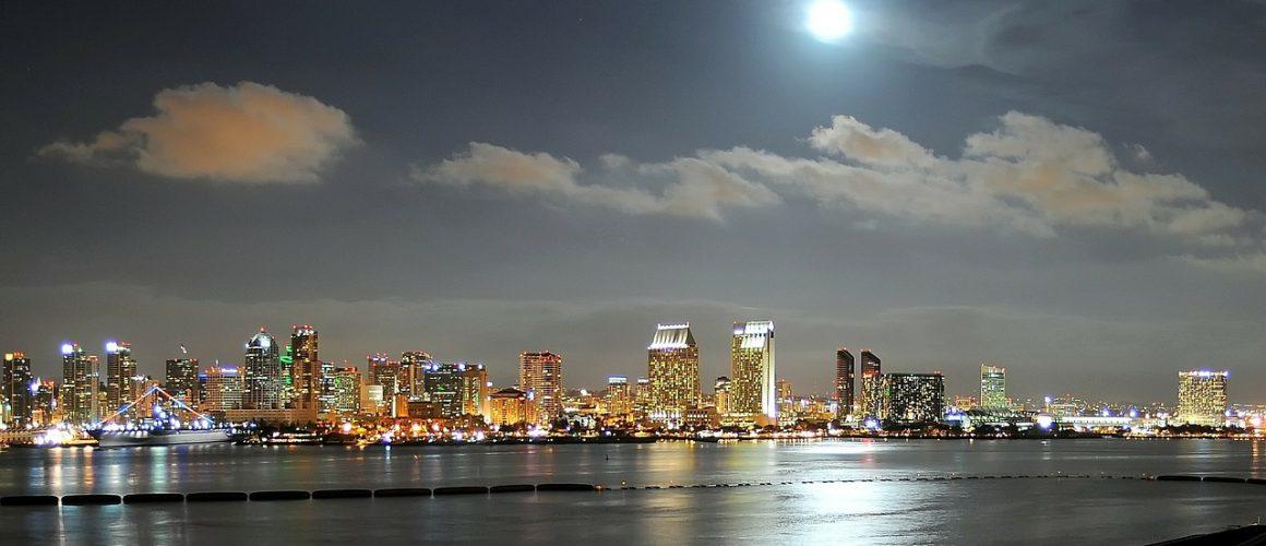 Widok na zatokę w San Diego